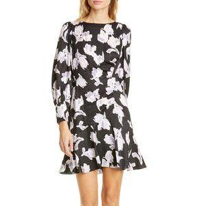 Rebecca Taylor Ikat Blossom Silk Jacquard Dress 6